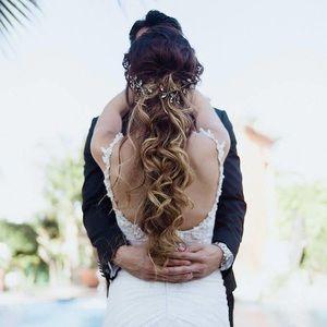 Helena Rebecca Ingram Wedding gown dress size 4